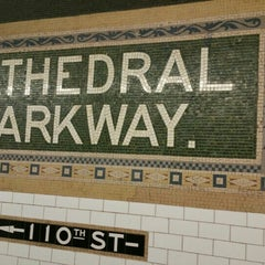 Photo taken at MTA Subway - Cathedral Pkwy/110th St (1) by Marcus on 10/10/2015