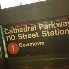 Photo taken at MTA Subway - Cathedral Pkwy/110th St (1) by Marcus on 4/11/2015