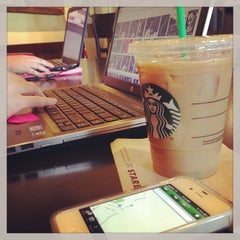 Photo taken at Starbucks by Rich K. on 1/21/2013
