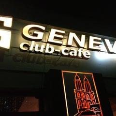 Photo taken at Geneva club-cafe by Alyona E. on 3/9/2013