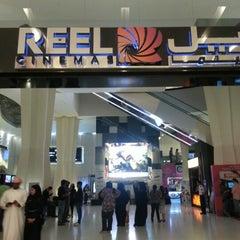 Photo taken at Reel Cinemas ريل سينما by Sudev N. on 2/9/2013