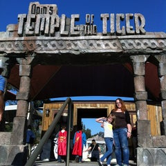 Photo taken at Odin's Temple of the Tiger by Anton K. on 2/21/2015