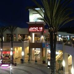 Photo taken at AMC Fashion Valley 18 by Joseph P. on 1/23/2013