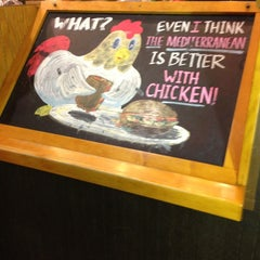 Photo taken at Potbelly Sandwich Shop by Joe on 12/18/2012