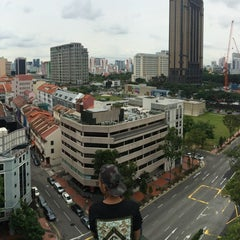 Photo taken at Shaw Towers by Teo K. on 10/5/2014
