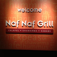 Photo taken at Naf Naf Grill by Steve C. on 10/7/2012