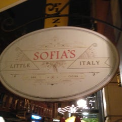 Photo taken at Sofia's of Little Italy by RENZO S. on 6/3/2013