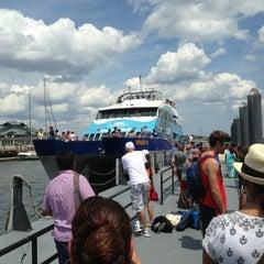 Photo taken at Boston Harbor Cruises by Edwin M. on 7/6/2013