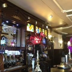 Photo taken at Cobh Irish Pub by Maru P. on 2/7/2013