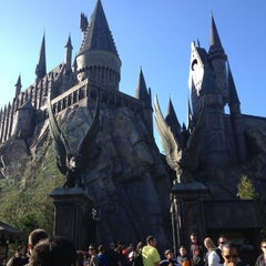 Photo taken at The Wizarding World Of Harry Potter - Hogsmeade by Valerie J. on 11/20/2012
