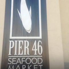 Photo taken at Pier 46 Seafood Market by Tori S. on 11/2/2012