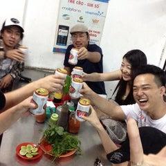 Photo taken at Phở Bắc Hải by Junichi U. on 1/25/2014