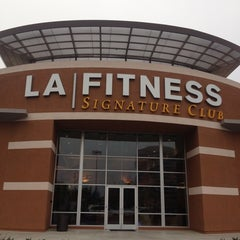 Photo taken at LA Fitness by Ali A. on 6/12/2013