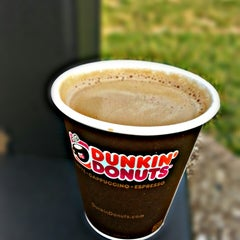 Photo taken at Dunkin Donuts by Ali A. on 9/30/2014