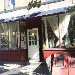 Photo taken at Magnolia Bakery by Karla M. on 10/22/2012