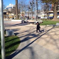 Photo taken at Plaza de Armas Talcahuano by Rodrigo M. on 10/3/2013
