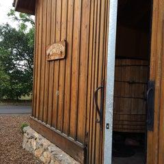 Photo taken at David Fulton Winery by Kayan U. on 5/10/2014
