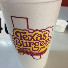 Photo taken at Texas Burger by Paola C. on 4/11/2013