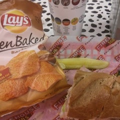 Photo taken at Firehouse Subs by Nicolas A. on 8/18/2014