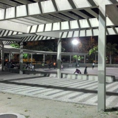 Photo taken at Parque dos Patins by Adilson L. on 10/27/2012