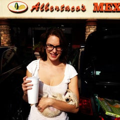 Photo taken at Albertacos by Aaron D. on 11/27/2012