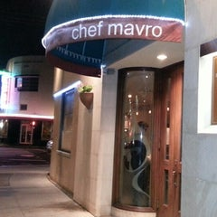 Photo taken at Chef Mavro Restaurant by Kevin S O. on 7/12/2013