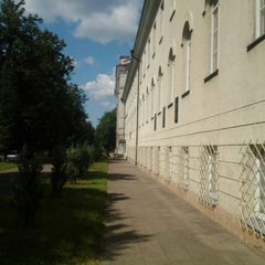 Photo taken at Vilniaus universiteto Gamtos mokslų fakultetas by Lukas T. on 7/26/2014
