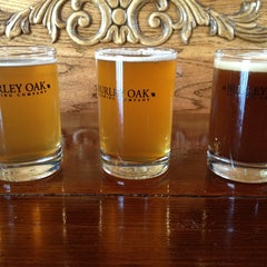 Photo taken at Burley Oak Brewing Company by Renee G. on 4/3/2013