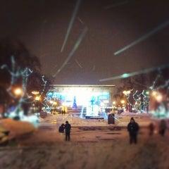 Photo taken at Памятник А. С. Пушкину by Gleb S. on 1/20/2013