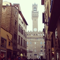 Photo taken at Piazza della Signoria by Vicky S. on 12/24/2012