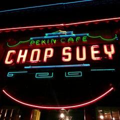 Photo taken at Chop Suey Pekin Cafe by Tim P. on 1/4/2015