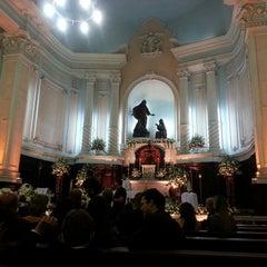 Photo taken at Igreja Matriz Santa Margarida Maria by Joana H. on 5/11/2013