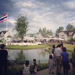 Photo taken at บ้านน้ำเคียงดิน (Ban Nam Kieng Din) by benkhondee on 7/21/2013