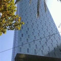 Photo taken at Meliá Barcelona Sky by Jav S. on 10/14/2011