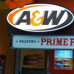 Photo taken at A&W by Gal Z. on 3/25/2011