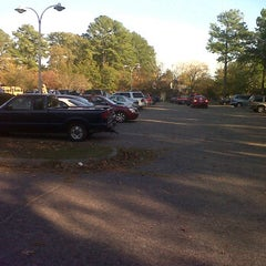 Photo taken at WSE Student Parking Lot by Tyler G. on 10/26/2011