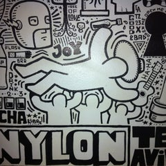 Photo taken at Nylon (ניילון) by Ilan D. on 3/9/2012