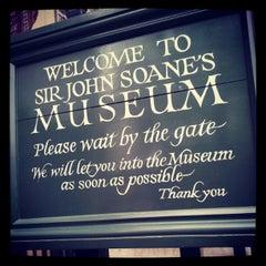 Photo taken at Sir John Soane's Museum by Morena F. on 4/7/2012