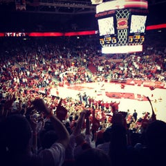 Photo taken at Bud Walton Arena by DeShawn B. on 2/1/2012
