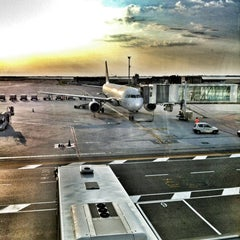 Photo taken at Aeroporto di Venezia Marco Polo (VCE) by Lorenzo B. on 7/30/2012