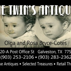 Photo taken at The Twins Antiques by Hudson H. on 1/6/2012