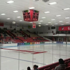 Photo taken at Walter Brown Arena by Brett C. on 2/8/2012