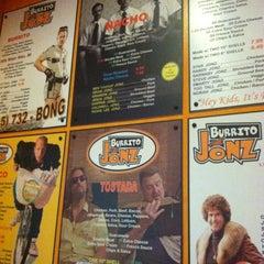 Photo taken at Burrito Jonz by Jojo A. on 8/12/2012