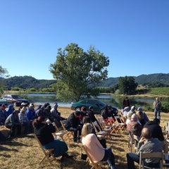 Photo taken at Dollarhide Ranch Vineyard by Eric B. on 6/5/2012