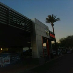 Photo taken at AutoNation Nissan Tempe by Shawn D. on 11/22/2011
