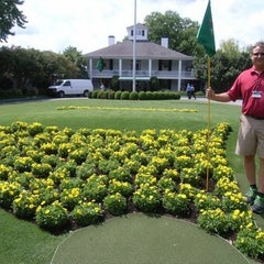 Photo taken at Augusta National Golf Club by Jonathan W. on 4/6/2012