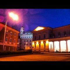 Photo taken at Vilniaus universiteto Filosofijos fakultetas by Alex S. on 8/25/2012