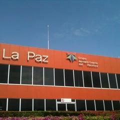Photo taken at Aeropuerto Manuel Márquez de León (LAP) by Twitter: @. on 7/13/2012