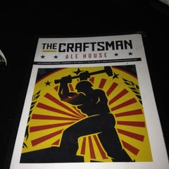 Photo taken at The Craftsman Ale House by Craft Beer Adam on 3/10/2012