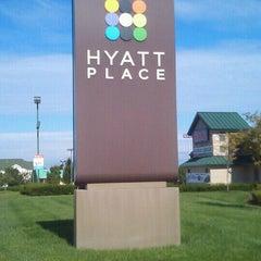 Photo taken at Hyatt Place Lexington by Tim Hobart M. on 9/29/2011